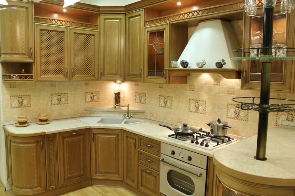 Дорогие и элитные кухни-Кухня из массива «Модель 127»-фото6