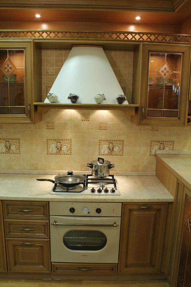 Дорогие и элитные кухни-Кухня из массива «Модель 127»-фото13