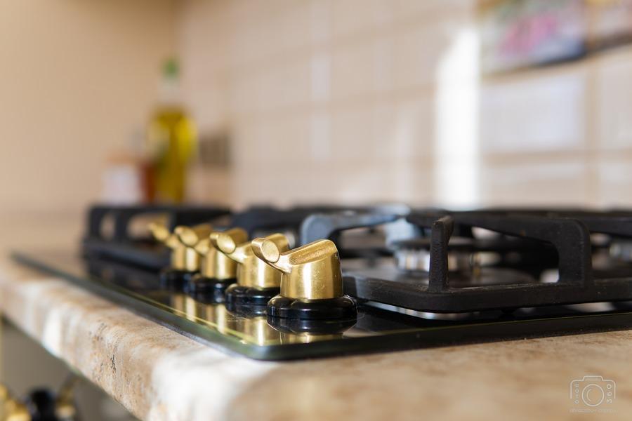 Бежевые кухни-Кухня из шпона «Модель 3»-фото11