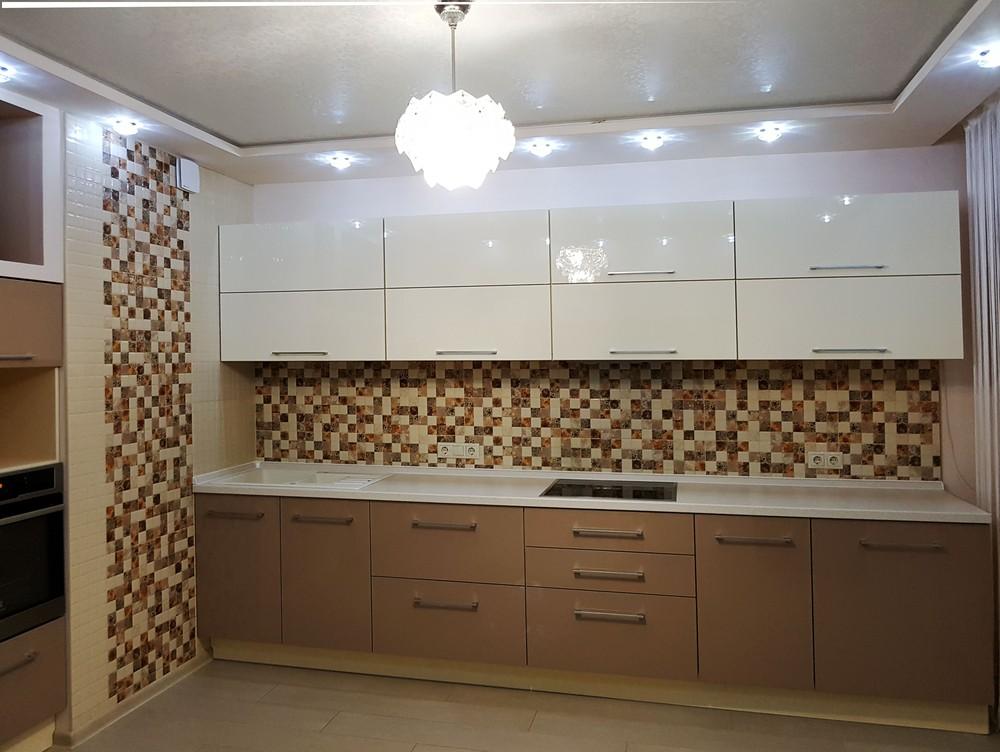 Акриловые кухни-Кухня из акрила «Модель 298»-фото2