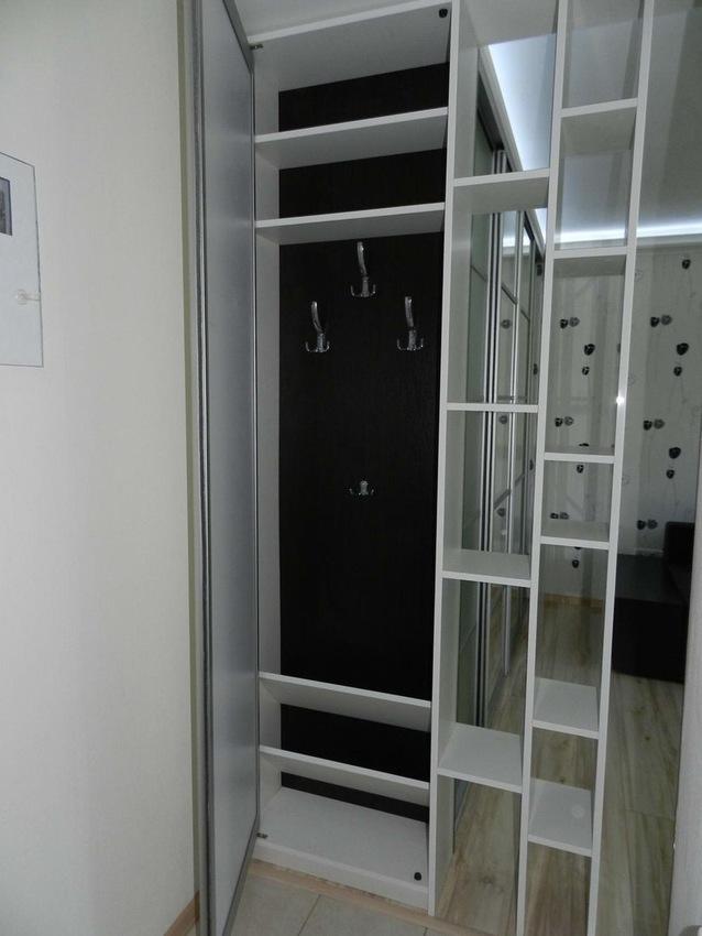 Бельевой шкаф-купе-Шкаф-купе с зеркалом «Модель 304»-фото8