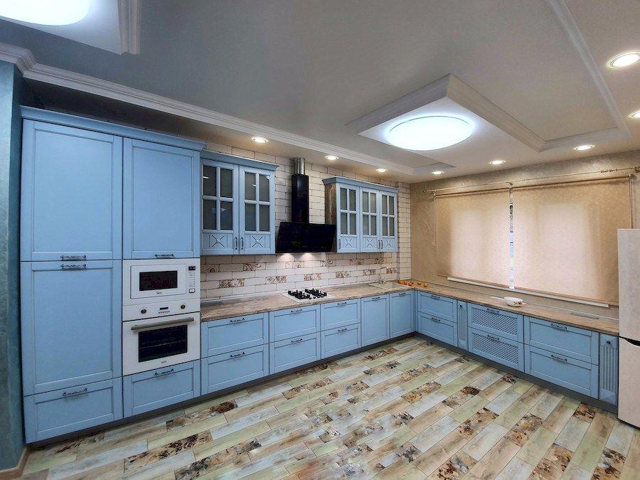 Дорогие и элитные кухни-Кухня МДФ в эмали «Модель 524»-фото1