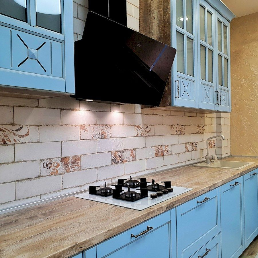 Дорогие и элитные кухни-Кухня МДФ в эмали «Модель 524»-фото5