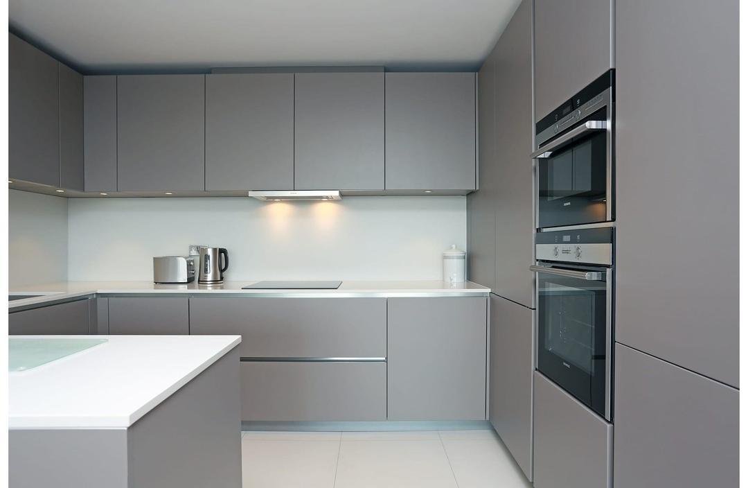 Дорогие и элитные кухни-Кухня МДФ в эмали «Модель 603»-фото2