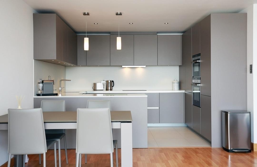 Дорогие и элитные кухни-Кухня МДФ в эмали «Модель 603»-фото1