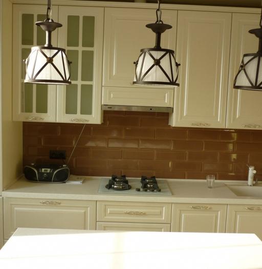 -Кухня МДФ в эмали «Модель 308»-фото6
