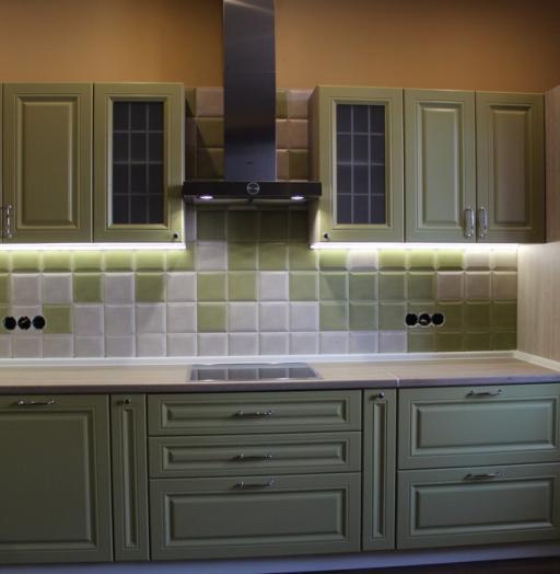 -Кухня МДФ в ПВХ «Модель 91»-фото24