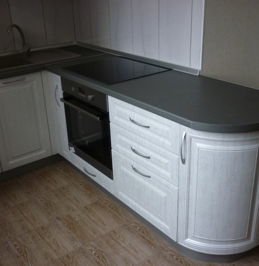 -Кухня МДФ в ПВХ «Модель 249»-фото14