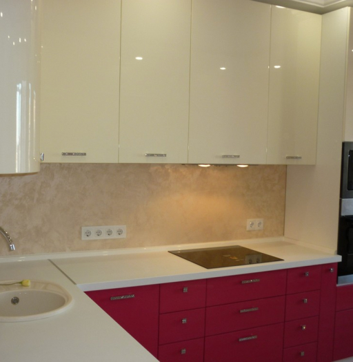 -Кухня МДФ в эмали «Модель 252»-фото24