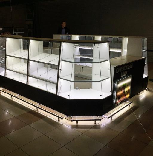 Торговая мебель-Торговый островок «Модель 236»-фото4