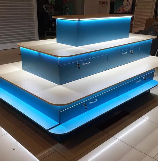 Торговая мебель-Торговый островок «Модель 259»-фото3