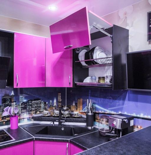 -Кухня МДФ в эмали «Модель 115»-фото2