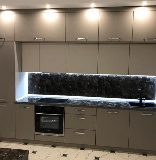 -Кухня МДФ в эмали «Модель 418»-фото10