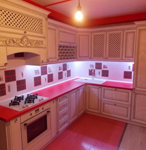-Кухня из шпона «Модель 13»-фото11