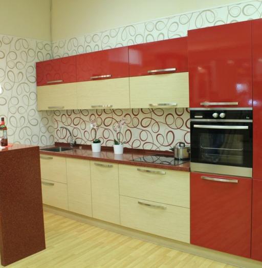 -Кухня из пластика «Модель 129»-фото12