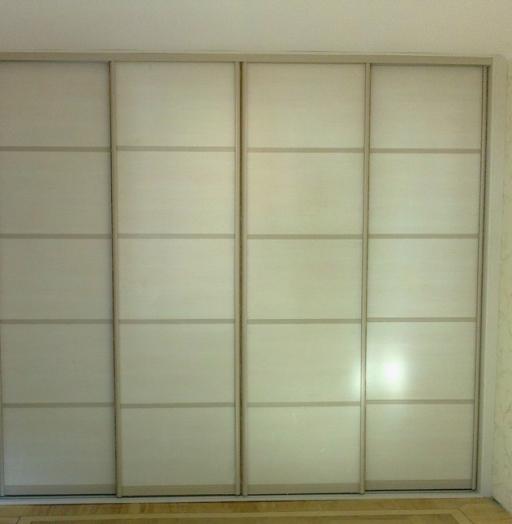 Белые шкафы-купе-Шкаф-купе из ЛДСП «Модель 203»-фото2